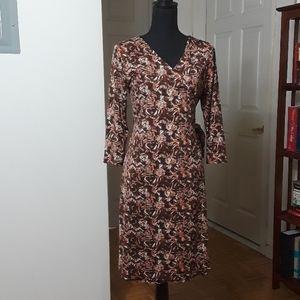 Allison Morgan wrap dress size s